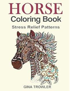 Vive Le Color! Horses (Adult Coloring Book): Color In; De-stress (72 ...