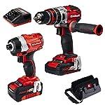Einhell-4257216-Brushless-Set-Utensili-Sistema-a-Batteria-Power-X-Change-20-Ah-18-V-Rosso-Nero