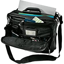 Kensington 62237 Contour Pro Genuine Leather 15-Inch Notebook Carrying Case