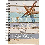 Lighthouse Collection Hardcover Wirebound Journal - Psalm 46:10