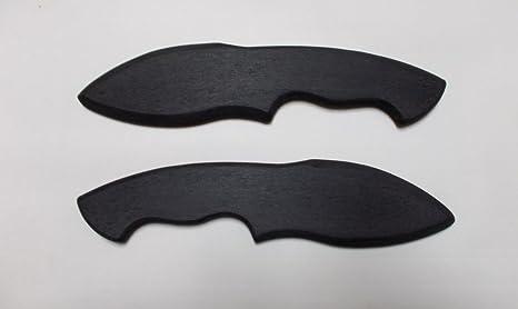 amazon com double daggers training knives new handmade knife rh amazon com