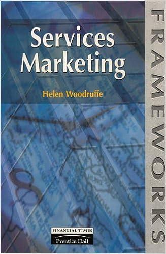 Services Marketing (Frameworks Series)