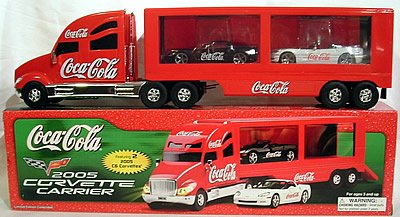 Coca Cola Toy Truck - 2