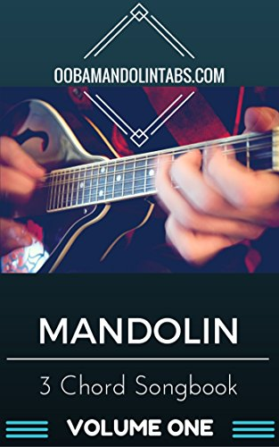 Amazon Mandolin 3 Chord Songbook Volume One 10 Easy To Learn