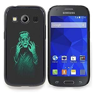 Eason Shop / Premium SLIM PC / Aliminium Casa Carcasa Funda Case Bandera Cover - Hombre Monster Creación Mad Genius Arte Ai Robot - For Samsung Galaxy Ace Style LTE/ G357