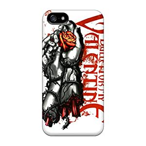 Protective Tpu Case With Fashion Design For Iphone 5/5s (bfmv)