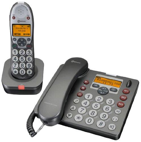 Audioline PowerTel 580, 200 entradas, 11 min, Gris, Plata ...
