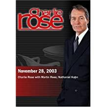 Charlie Rose with Martin Rees; Nathaniel Kahn