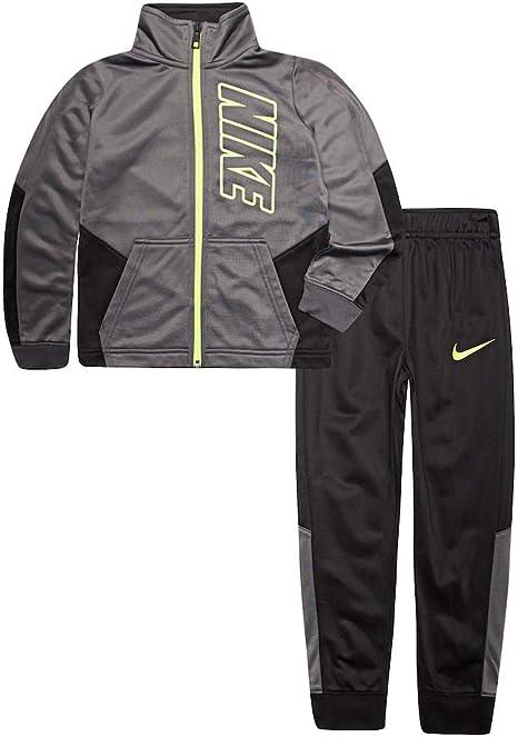 Nike - Chándal para niño (2 Piezas), 4, Black(86E201-023)/Volt ...