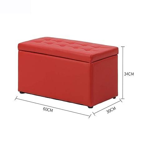 Magnificent Amazon Com Ycsd Rectangular Storage Ottoman Bench With Faux Machost Co Dining Chair Design Ideas Machostcouk