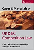 Cases and Materials on Competition Law, Kirsty Middleton and Barry J. Rodger, 0199259275