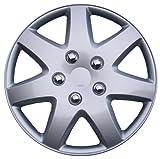 "Drive Accessories KT-962-16S/L, Toyota Paseo, 16"" Silver Replica Wheel Cover, (Set of 4)"
