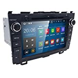 Cheap Android 7.1 OS Quad Core 8 inch 1024600 HD Touchscreen for Honda CRV CR-V 2006 2007 2008 2009 2010 2011 in Dash Car Stereo Kit DVD Player GPS Navigation Support Radio/DVR/OBD/TV/1080P