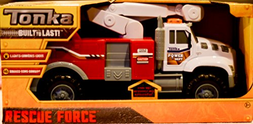 Tonka Rescue Force Power Dept Truck