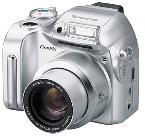 amazon com fujifilm finepix 2800 2mp digital camera w 6x optical