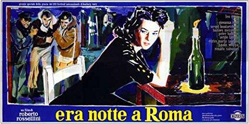 Escape by Night Italian Poster