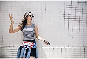 62368c83ae97 The #1 American Flag Fannypack with Speakers. Bluetooth Fanny Pack ...