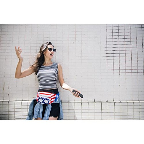 American Flag Bluetooth Fanny Pack Party Gift (2018 Edition)