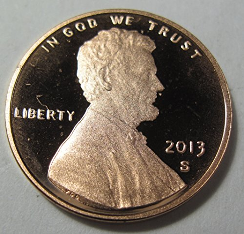 - 2013 S Lincoln shield Cent proof