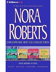 Nora Roberts Chesapeake Bay CD Collection: Sea Swept, Rising Tides, Inner Harbor, Chesapeake Blue