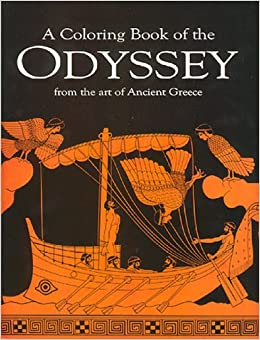 A Coloring book of the Odyssey from the art of Ancient Greece ...