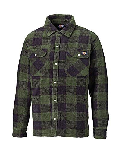 Portland Imbottito Pile Xxl S Verde L Indumenti Camicia Caldo Allineato M Xl Marino Dickies Blu sh5000 E Taglie fdqCwf