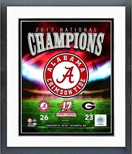 Alabama Crimson Tide 2017 NCAA Football National Champions Photo (Size: 12.5