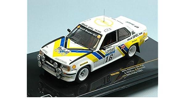 Amazon.com: IXO MODEL RAC109 OPEL ASCONA N.16 RAC 1981 1:43 MODELLINO DIE CAST MODEL: Toys & Games