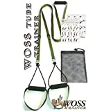 WOSS TUBE Suspension System, Olive Drab, Made in USA Trainer