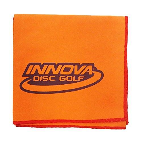 - INNOVA DewFly Microsuede Disc Golf Towel - Orange