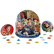 Toy Story Power Up Birthday Party Assorted Table Decorating Kit, Pack Of 23, Multi-Colored , 12 3/5 , Paper