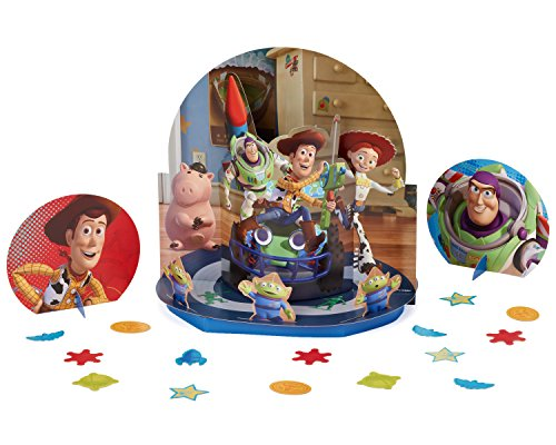 Toy Story Power Up Birthday Party Assorted Table Decorating Kit, Pack Of 23, Multi-Colored, 12 3/5