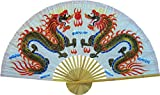 40 inch dragon wall fan - Oriental-Decor Medium 40