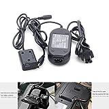 WOSOSYEYO NP-FW50 Maniquí de la batería con el Adaptador AC-PW20 Cargador para Sony A6000 A6300 A6500 (Color: Negro)