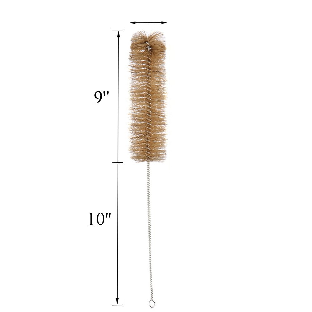 500ml Glass Graduated Cylinder Measuring Bottle Single Metric Scale with Cleaning Brush by Ronyes Lifescience (Image #3)