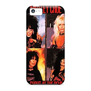 High Quality Pollary Motley Crue Skin Case Cover Specially Designed For Iphone - 5c
