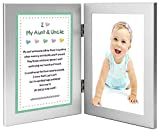 Gift for Uncle and Aunt, Sweet Poem From Niece or Nephew, 4x6 Frames - Add Photo
