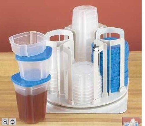 Smart Spin N Store 49 Piece Food Storage Set - 49 Piece Storage System
