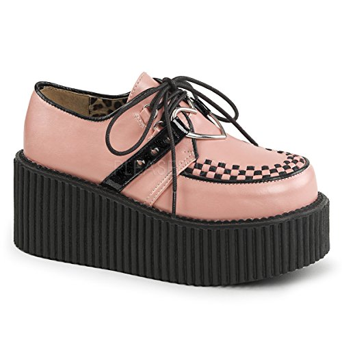 low shipping get to buy online Demonia Women's CRE206/BVS-VL Fashion Sneaker B. Pink Vegan Leather free shipping 100% authentic Red pre order eastbay KkSOd