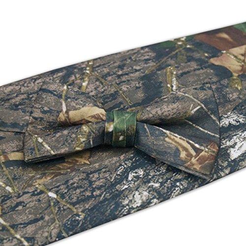 Camouflage Bow Tie - Camouflage Bow Tie & Cummerbund Set