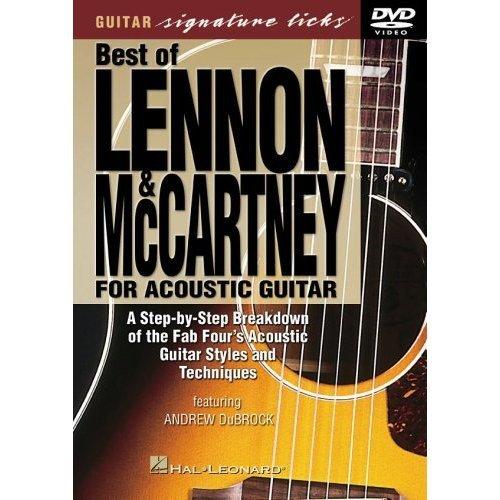 Best of Lennon & McCartney for Acoustic Guitar Signature Licks DVD