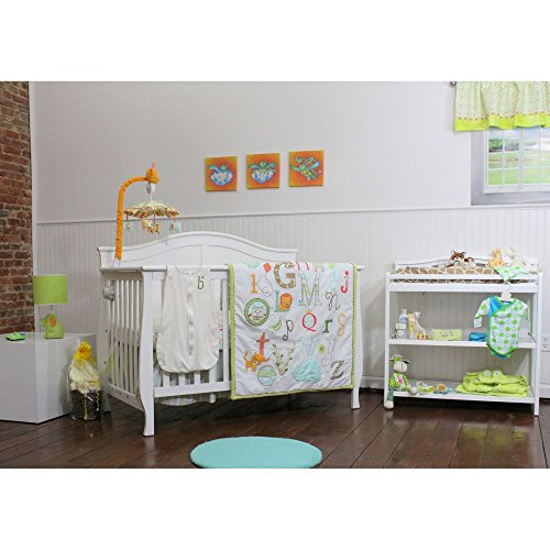 My ABCs 4 Piece Crib Bedding
