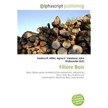 Filière Bois: Bois, Filières vertes, Grenelle de l'environnement, Industrie du bois, Forêt, Bois (matériau de construction), Maison en bois, Code forestier