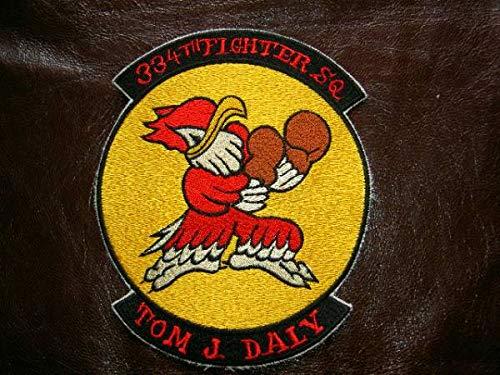 SQ Patch 334thFS 朝鮮戦争時代レプリカ   B07N39TKXJ