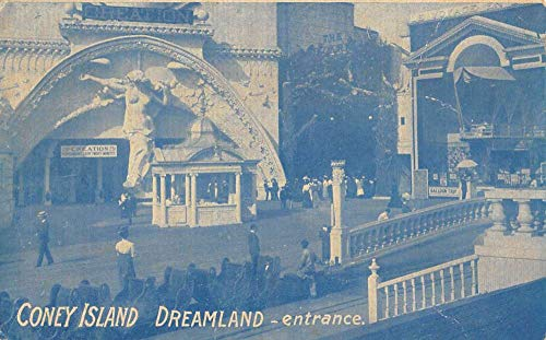 Land Postcard - Coney Island New York Dreamland Entrance Antique Postcard K107413