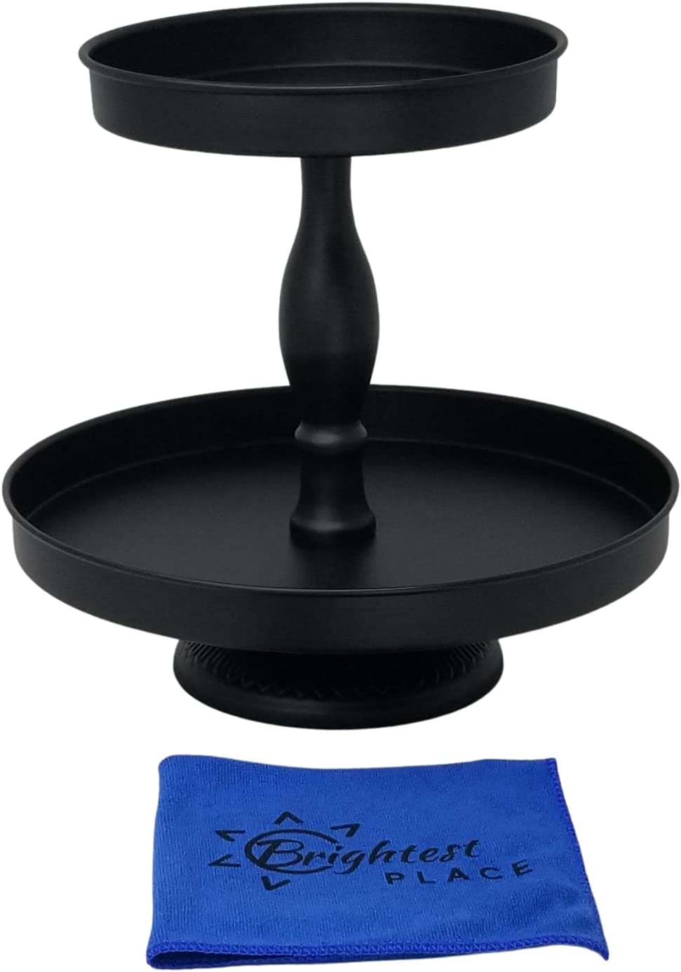 Max 45% OFF Now on sale Brightest Place Black Tiered Metal Tray Decor Farmhouse Stand