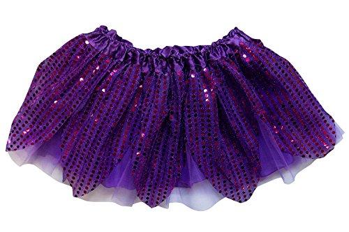 Plus Size Purple Tutu (So Sydney Kids, Adult, or Plus Size SPARKLE RUNNING TUTU SKIRT Halloween Costume (XL (Plus Size), Purple))