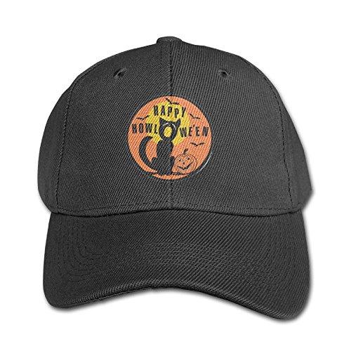 Elephant AN Great Happy Halloween Pure Color Baseball Cap Cotton Adjustable Kid Boys Girls Hat ()