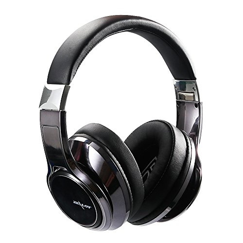 ZEALOT B22 Bluetooth Headphones Over Ear, Wireless Headset, Foldable, Soft Memory-Protein Earmuffs, w/Built-in Mic and Wired Mode for PC/Cell Phones/TV