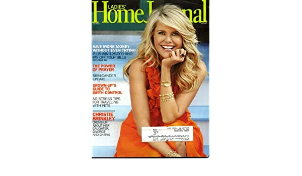 Ladies Home Journal July 2010 Christie Brinkley On Cover Save More
